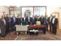 Başkonsolos Guliyev Asimder'i ziyaret etti