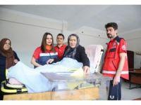 Isparta'da oy kullanma işlemleri