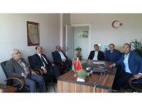 Asimder'den Müdür yardımcısı Aras'a ziyaret