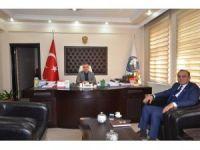 Iğdır Azerbaycan konsolosundan Başkan Yikit'e ziyaret