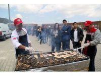 SDÜ'de balık ekmek şenliği