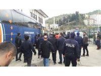 Medipol Başakşehirli futbolcular maç sonunda gazeteciye saldırdı