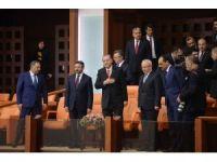 """Cumhurbaşkanı Erdoğan: """"Tartışmalar üzerine değil, barış üzerine bina edin"""""""