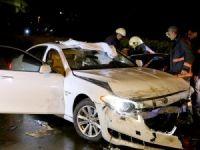 Üsküdar'da trafik kazası: 1 yaralı