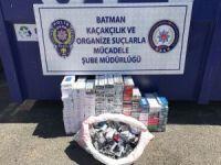 Batman'da 3 bin 880 paket kaçak sigara ele geçirildi