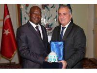 Bursa ile Afrika arasında iş birliği