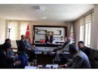 Vali Çınar, birim amirleriyle toplantı yaptı