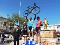 Ulusal bisiklet yol yarışı yoğun ilgi gördü