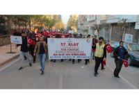 """Elazığ'da """"57. Alaya Vefa Yürüyüşü"""""""