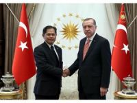 Cumhurbaşkanı Erdoğan, Tayland Büyükelçisi Chirapant'ı kabul etti