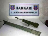 Hakkari'de SA-18 güdümlü füze mühimmatı ele geçirildi