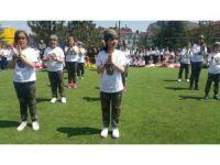 27 Ağustos İlköğretim Okulu öğrencileri 23 Nisan coşkusu yaşadı