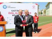 Gazi Üniversitesi, 'Özel Olimpiyat Bölge Oyunları'na ev sahipliği yaptı