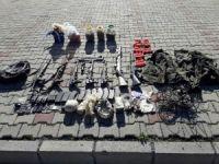 """TSK: """"Tunceli'nin Ovacık ilçesinde teröristlere ait çok sayıda mühimmat ve yaşam malzemesi ele geçirildi"""""""