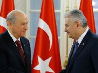 Başbakan Yıldırım, MHP Genel Başkanı Bahçeli ile görüşecek