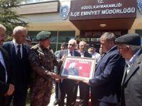 Şehit özel harekatçının adı Güdül Polis Merkez Amirliğinde yaşayacak
