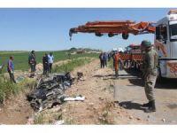 Mardin'de tanker otomobili biçti: 2 ölü, 1 yaralı