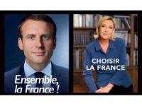 Fransız Cumhurbaşkanı adaylarının ikinci tur afişleri