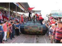 Antalya'da Tarım ve Seracılık Fuarı'nda 15 Temmuz direnişi canlandırıldı