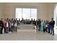 Edremitli öğrenciler Filistin'de