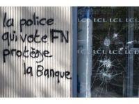 """""""Ne Macron ne Le Pen"""": gençler Paris'de protesto ediyor"""