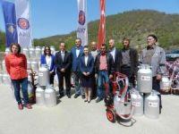 TİKA'dan Kosova süt üreticilerine destek