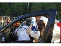Bolu Dağı'nda trafik kazası: 1 yaralı