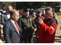 Karabük'te kaza geçiren aileyi arama çalışmaları devam ediyor