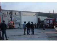Tekirdağ'da tekstil fabrikasında yangın