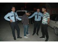 Polisin 'dur' ihtarına uymayan sürücü şehri birbirine kattı