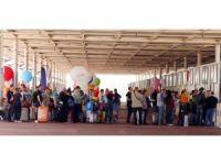 Antalya'ya bir günde 190 uçak inecek