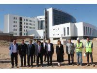 Aksaray'da yeni hastane inşasında sona gelindi
