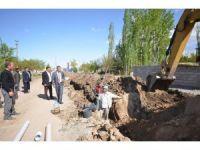 Iğdır Belediyesi kanalizasyon çalışmaları