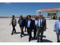 Başkan Yazgı, Aksaray Ticaret Borsası ve canlı hayvan pazarını ziyaret etti