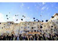 Çankırı'nın en başarılı öğrencileri kep attı