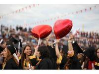 İnönü Üniversitesinde mezuniyet coşkusu