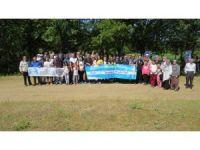 Biga'da obezite ile mücadele yürüyüşü düzenlendi