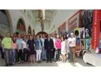 İncirliova Bahçeşehir Kolejinden resim sergisi
