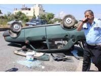 Kazaya neden olan sürücü arkasına bakmadan yaralıları bırakıp gitti