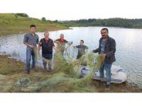 Ağlara takılan canlıları ekipler kurtardı