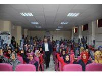 Şanlıurfa'da 'Üreten Gençlik' projesinin ilk konferansı verildi