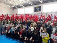 Dodurga Taekwondo Şampiyonasına ev sahipliği yaptı