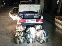 Şanlıurfa'da 76 kilo esrar ele geçirildi