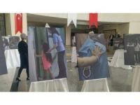 Bakırköy Adliyesi'nde 'Yaşamın Kıyısında' sergisi açıldı