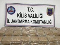 Kilis'te 102 kilo eroin ele geçirildi