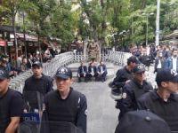 Gülmen ve Özakça protestosuna müdahale
