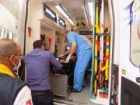 112 Acil Servis ekipleri de hastanelik oldu