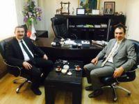 SGK İl Müdürü Göksoy'dan Başkan Berge'ye ziyaret