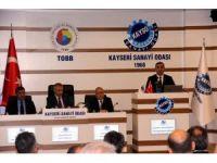 """KAYSO Yönetim Kurulu Başkanı Mehmet Büyüksimitçi: """"Sanayisi olmayan hiçbir ülkenin başarı şansı yok"""""""