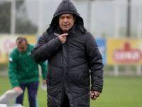 Giresunspor Süper Lig yolunda Play-Off'ta eşleştikleri Eskişehirspor maçı hazırlıklarını sürdürüyor